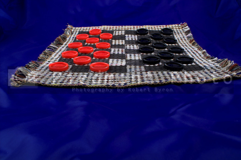 The old tried and try original game of checkers.