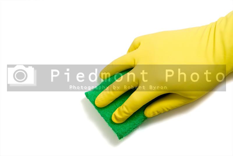 Latex Glove and Sponge