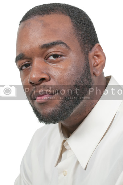 An attractive handsome African American black man