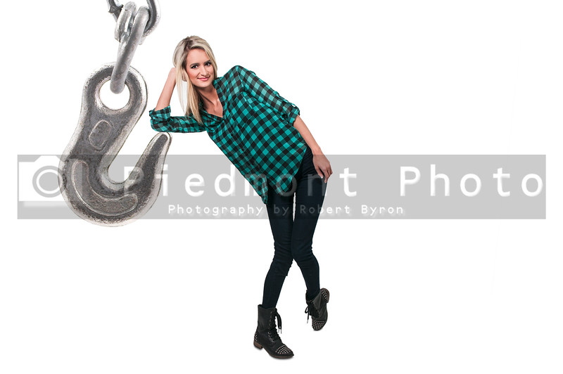 Woman and Chain Hook