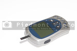 A diabetics glucometer used to measure blood sugar.