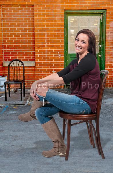 Beautiful Woman Sitting