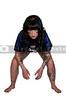 Beautiful woman football player tailback halfback or reciever