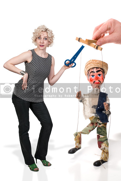Woman and Marionette