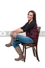 Beautiful Woman Sitting