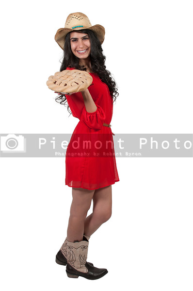 Woman with Pie