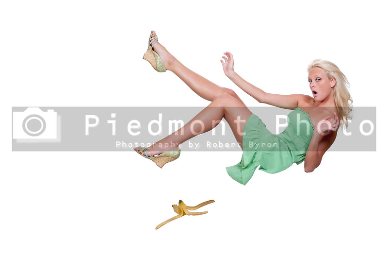 Slipping on a banana