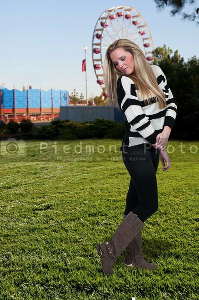 Woman at a Fair
