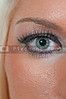 Eye of a very beautiful young woman
