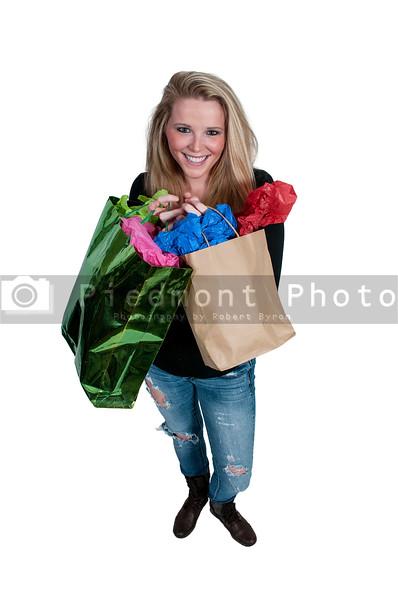 Woman Shopping Bags