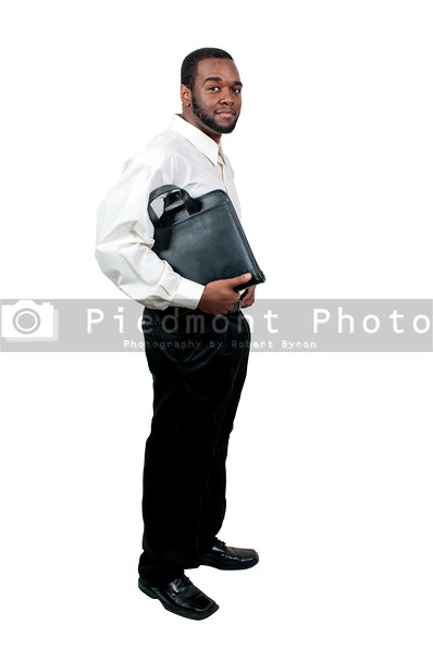 A young handsome black African American man with a lovely smile