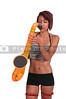 Woman Saxaphonist