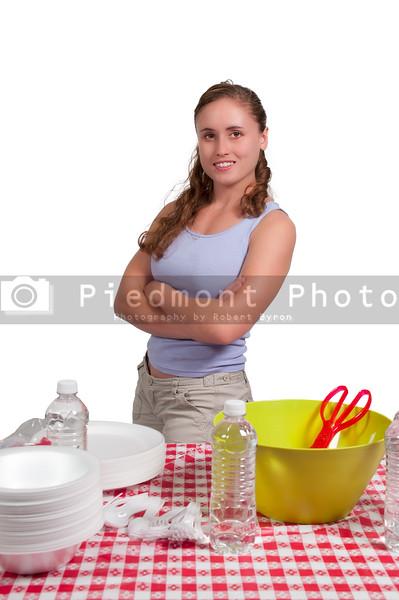 Woman Picnic