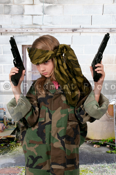 Little Girl Soldier