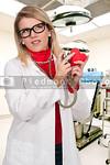 Beautiful Woman Cardiologist