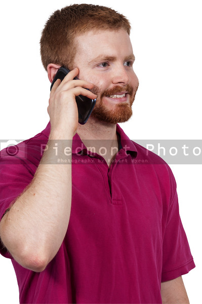 Man on a Cell Phone