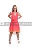 Beautiful Woman in a dress