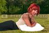 Beautiful Woman Laying Down