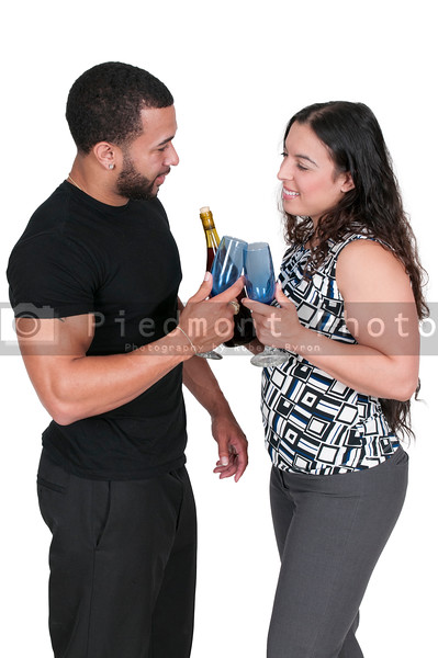 Couple with Wine