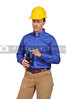 Construction Worker with a beer
