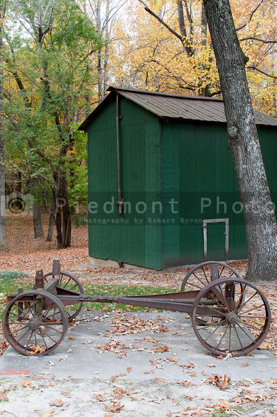 Two Horse Drawn Wagon