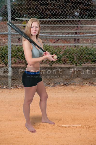 Woman Baseball Player