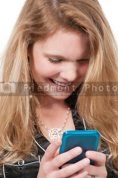 Woman Texting
