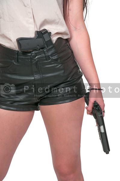Woman with Gun