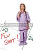 Girl Doctor with Syringe