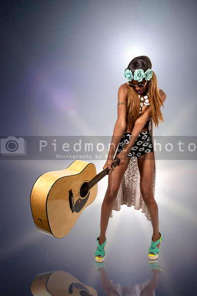 Woman Rock Star