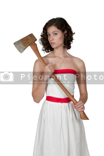 Woman with Axe