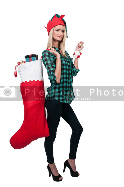 Beautiful Woman Holding Gifts