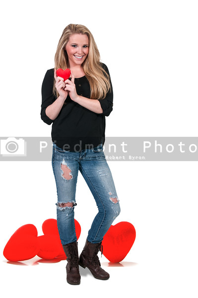 Valentines Day Heart Woman