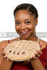 Black Woman with Pie