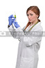 Female Doctor with Syringe
