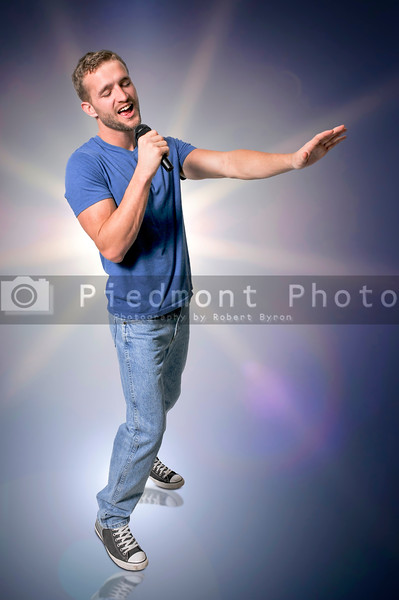 Handsome Man Singer