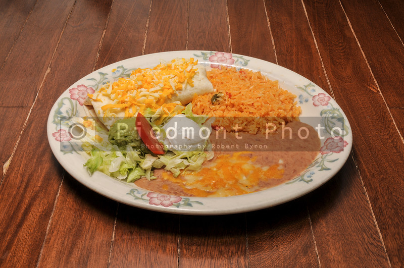 Authentic Mexican Chimichanga