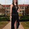 Beautiful Woman in a formal dress