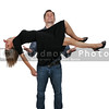 Man levitating a woman