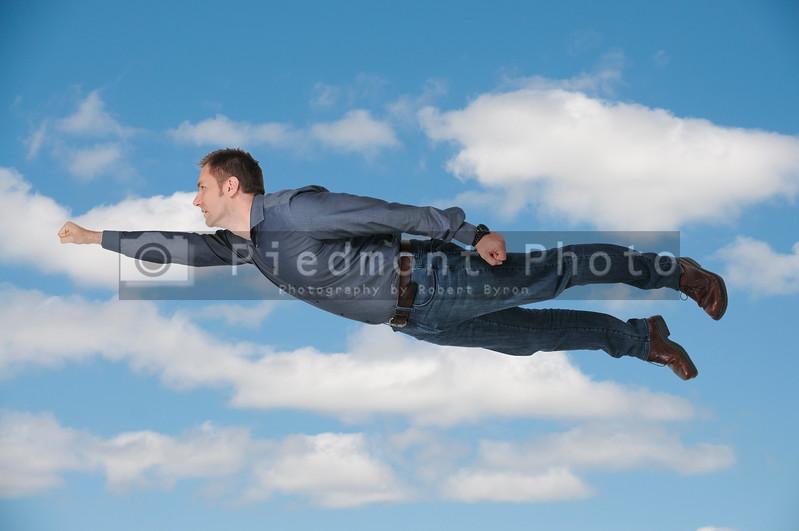 Falling or Flying Man