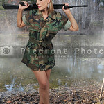 Young Woman Soldier
