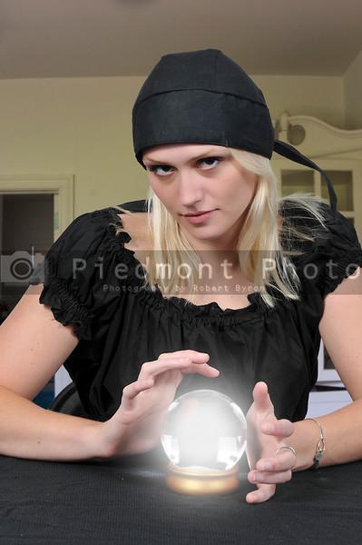 Woman Gypsy Fortune Teller