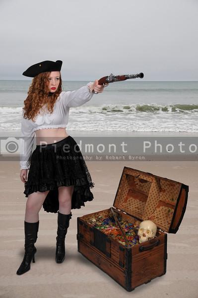 Beautiful Woman Pirate