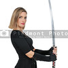 Woman Samurai Swordsman