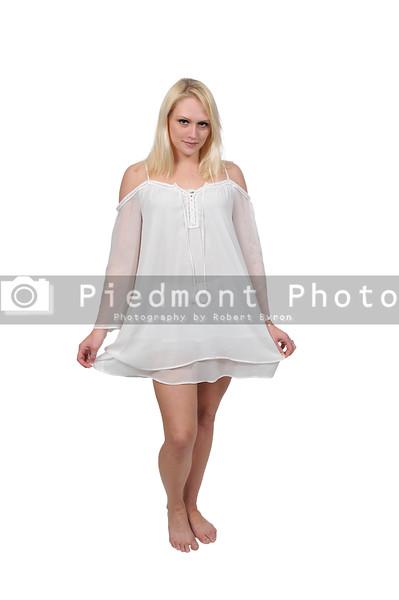 Woman wearing lingerie