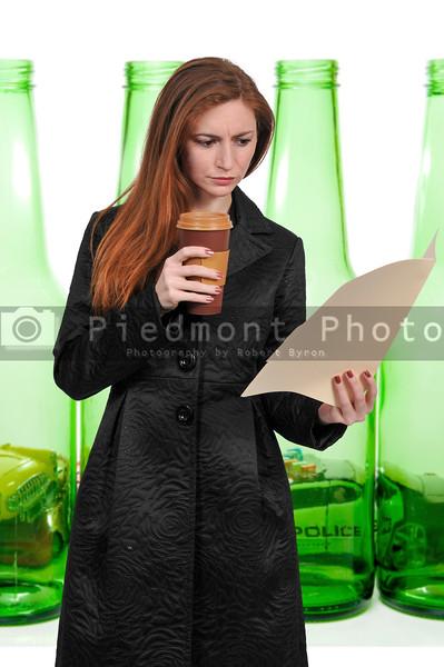 Beautiful Woman Lawyer