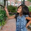 Little Girl Using Cell Phone