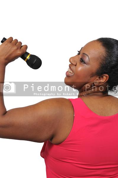 Black Woman Singer