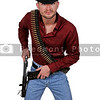 Handsome cowboy man