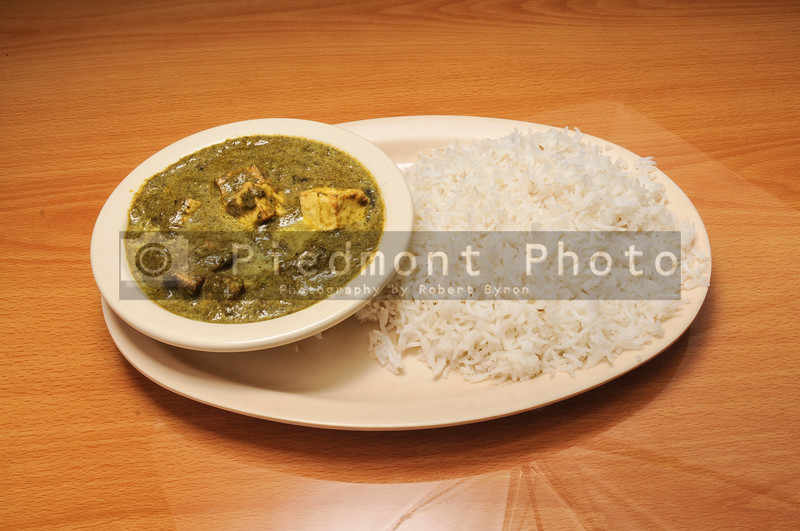 Indian Spinach Paneer